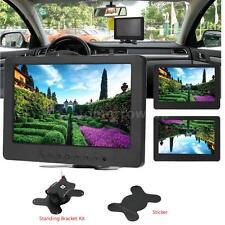 "7"" Tft Lcd Color Hd Monitor Screen 16:9 Display Vga Bnc Av Hd for Pc Cctv Dvd"