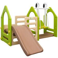 Kinderrutsche Kinderspielhaus Gartenrutsche Babyrutsche Garten Rutsche Schaukel