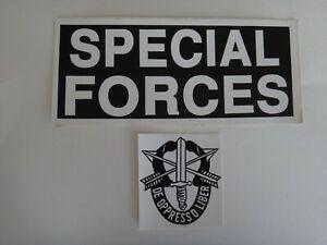 Lot De 2 États-Unis Armée Forces Spéciales de-Oppresso Liber Autocollants