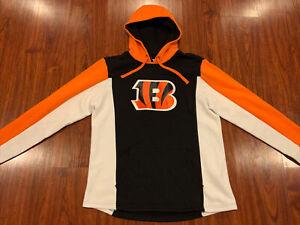 Fanatics Men's Cincinnati Bengals NFL Hoodie Sweatshirt Large L Football