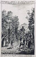 Aix en Provence en 1790 Pascalis pendu Révolution Française Guiraman