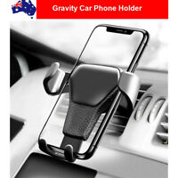 Universal Gravity Car Mount Air Vent Phone Holder For Phones iPhone Samsung