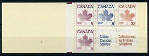 Weeda Canada BK84 VF complete booklet, 'SPRINGPEX' Hamilton show overprint cover