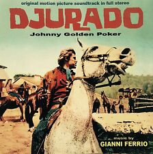 GIANNI FERRIO - DJURADO Spaghetti Western Soundtrack CD GDM4143 Italy