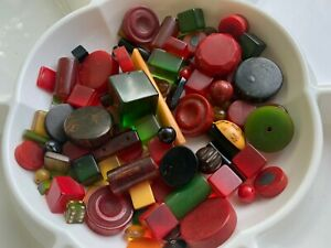 Miscellaneous Bag Of Bakelite Components 388g