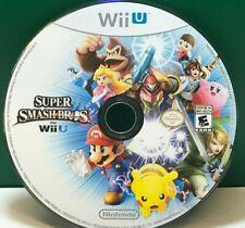 Super Smash Bros. (Nintendo Wii U, 2014) DISC ONLY #WALL
