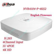 9a27e9215c7 Dahua NVR4104-P-4KS2 NVR 4Ch Smart Mini 1U 4 POE Network Video Recorder