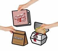 "Thermo-Sandwichtasche ""Vespertasche"" Brotdose Sandwich Cool bag Hot bag Lunchbag"