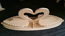 ferrero rocher sweet swan stand flat pack & slot design candy cart ferris wheel