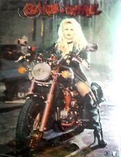 "Barb Wire Pamela Anderson Vintage Chromium Poster 1996: 27"" x 19"" 3-D Effect"