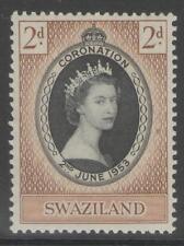 SWAZILAND SG52 1953 CORONATION MNH