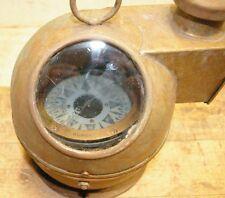 W. Ludolph Brass Binnacle & Liquid Compass Bremerhaven Germany