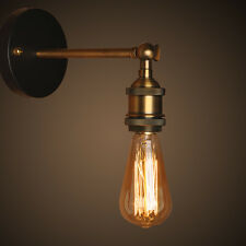 Modern E27 Edison Style Industrial Rustic Sconce Wall Light Lamp Fitting Fixture