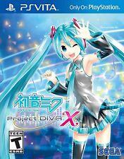 Hatsune Miku: Project Diva X with Hatsune Miku Pouch (PS Vita, 2016)