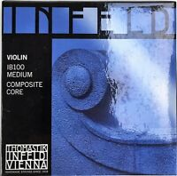 Infeld IB100 Blue Composite Core Violin Strings Size 4/4