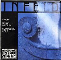 Infeld IB100 Blue Composite Core Violin Strings Size 4/4