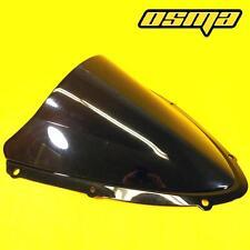 06 07 Suzuki GSXR 600 750 GSXR600 GSXR750 K6 Dark Smoke Double Bubble Windshield