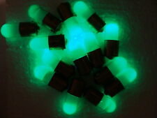 50pcs Green Neon Light Bulb, Indicator