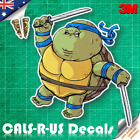 Famous FAT Series TMNT Leonardo Ninja Turtles Sticker Car Luggage 3M Film 100mm