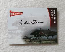 Unstoppable Cards Thunderbirds Series 2 Autograph Card Mike Trim MT2