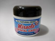 Miracle Dental Care Tooth Powder All Natural Herbs 25g