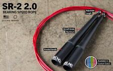 Rogue Fitness SR-2 Ballistic Jump Rope New Crossfit Speed Rope Aluminum Handles