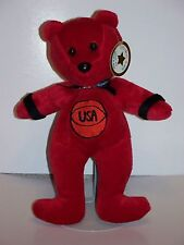 Celebrity Bears # 9 Michael Jordan  beanie bag bear