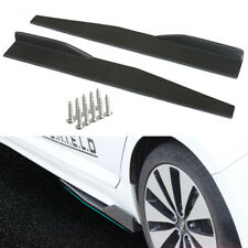Universal Car Carbon Fiber Side Skirts Rocker Splitters Winglet Diffuser Canard