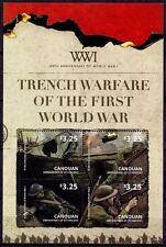 saint vincent CANOUAN ca 2014 World War I Trench Warfare soldier military ms4v