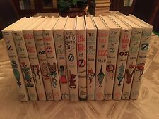 Full Set of 14 Wizard of Oz books ~ White edition  from 1964/65 ~ Frank Baum