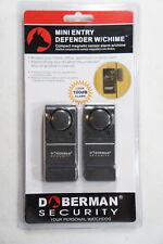 Doberman Security SE-0129 Mini Entry Door Window Defender & Chime NEW