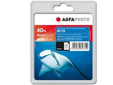 AGFA PHOTO HP Nr. 15 C6615D DJ840C INK BK Black Schwarz  black Neuware  AP HP15B