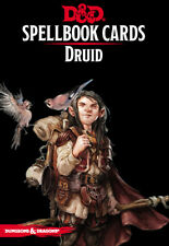 Dungeons & Dragons 5th Edition RPG: Druid Spellbook Deck (153 Cards)
