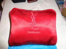YSL YVES SAINT LAURENT COSMETIC MAKEUP DOUBLE CASE BAG POUCH