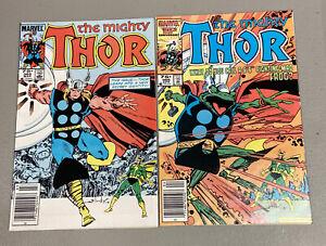 Thor #365 & #366. 1st Full Frog Thor (Throg)