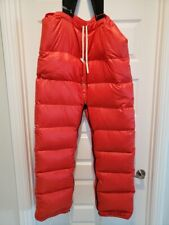REI Down Bib Pants Mens Size Medium Expedition Mountain Climbing Mountaineer