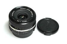 Nikon E 28mm F/2.8 AiS lens