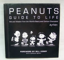 Charles Schulz PEANUTS GUIDE TO LIFE Black & White Hardcover Book Hallmark Gift