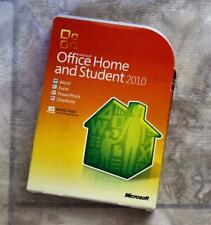 ~MGJ ~MISC~ Microsoft Office Home and Student 2010 Family Pack,  3PC Disk