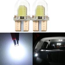 1x T10 Car Room Light 8 Cob 1W 6000K 360° 12V License Plate LED Light Lamp Bulb