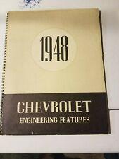 1948 CHEVROLET CAR TRUCK ENGINEERING FEATURES ALBUM CORPORATE ITEM