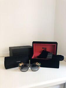 DOLCE & GABBANA occhiali da sole (donna) Limit Edition Nuovo Con La Scatola