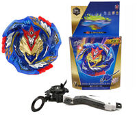 Burst Beyblade B-127 Cho Z !! CHO-Z VALKYRIE.Z.Ev + Advanced Grip Toy Xmas Set