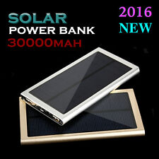 MOBILE SMARTPHONE SOLAR CHARGER  iPhone Samsung Galaxy S NOTE LG Nokia 30000 mAh