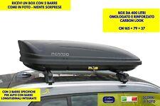 Box Baule Tetto Auto per BMW X3 F25 G01 dal 2010> barre portatutto portapacchi