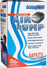 Active Aqua Air Pump AAPA25L 8 Outlet Aquarium Fountain Pond SAVE $ W/ BAY HYDRO