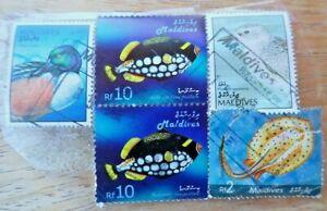 The Republic of Maldives stamps, fish, 2006
