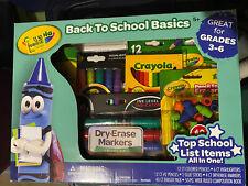 Crayola Back To School Basics Set, Grades 3-6 New