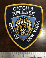 New York City Police Dept Catch & Release Patch NYPD