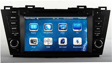 "8"" Stereo Car Radio DVD Player GPS Navigation For Mazda 5 Premacy 2009-2012 +Map"